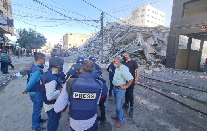 وزارة الإعلام: الاحتلال دمر 11 مطبعة ومكتبة منذ بداية عام 2021