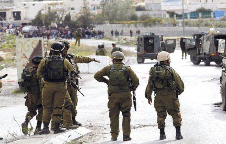 اندلاع مواجهات مع قوات الاحتلال في سعير شرق الخليل