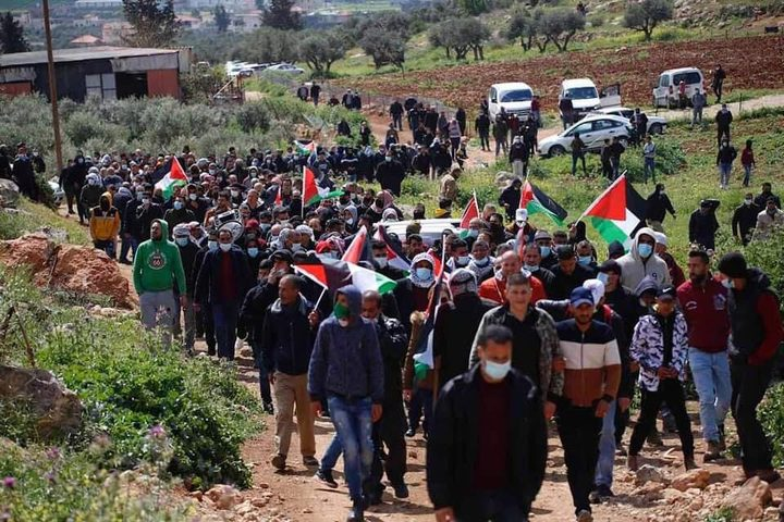 شهيد و21 إصابة بالرصاص خلال مواجهات مع الاحتلال في بيتا