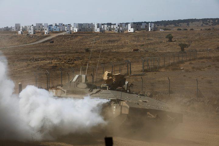 إسرائيل ترد على صواريخ من جنوب لبنان
