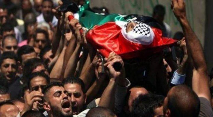 تشييع جثمان الشهيد عماد دويكات إلى مثواه الأخير في بلدة بيتا
