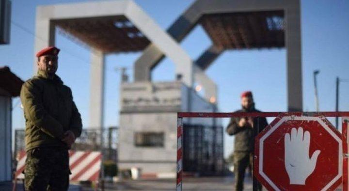مصر تعلن إغلاق معبر رفح اليوم وغدا