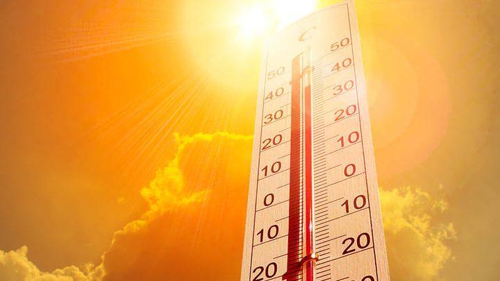 الطقس: أجواء حارة جداً ولا يطرأ تغير على درجات الحرارة