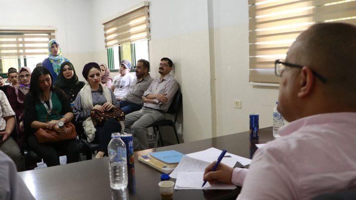أبوسيف: نولي أهمية خاصة لتنمية المشهد الثقافي في قطاع غزة
