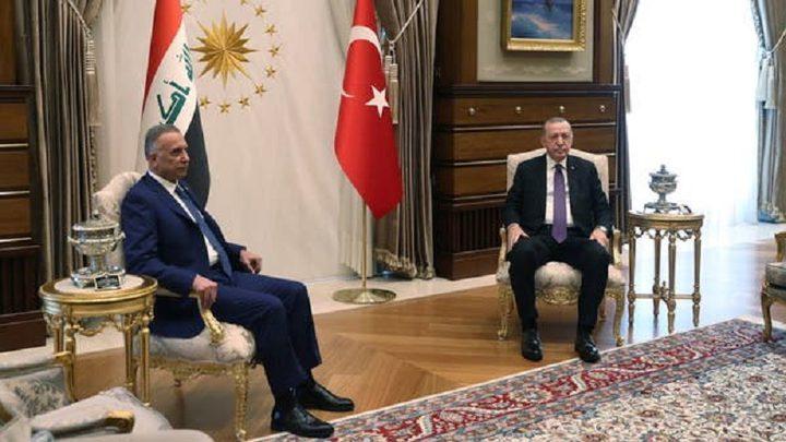 الكاظمي يدعو أردوغان لحضور اجتماع قادة دول الجوار في بغداد