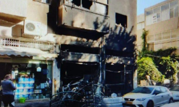 اعتقال مشتبه بإحراق محل تجاري في حيفا