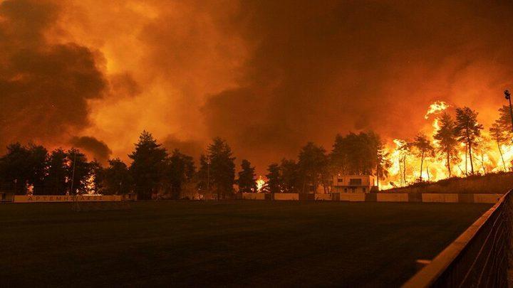 تقرير: حرائق الغابات تقض مضاجع اليونان