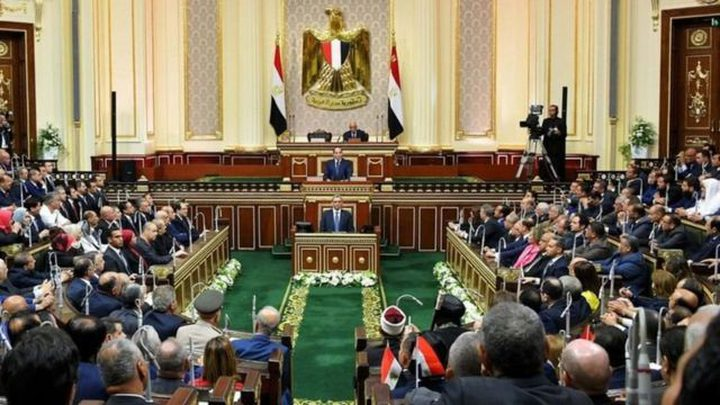 وفد المنظمة يطلع مجلس النواب المصري على تطورات الأوضاع بفلسطين