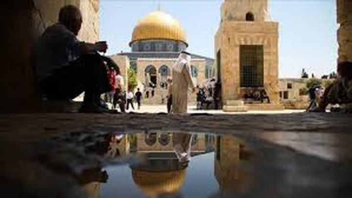 إحياء رأس السنة الهجرية في المسجد الأقصى باحتفال ديني
