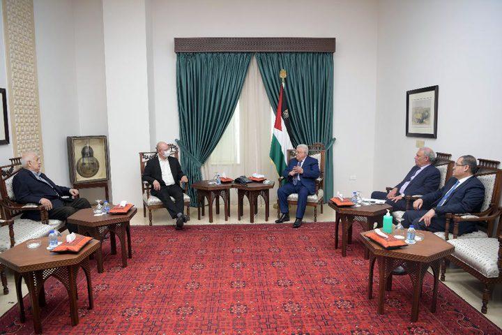 الرئيس يستقبل رئيس جامعة بيرزيت الجديد بشارة دوماني