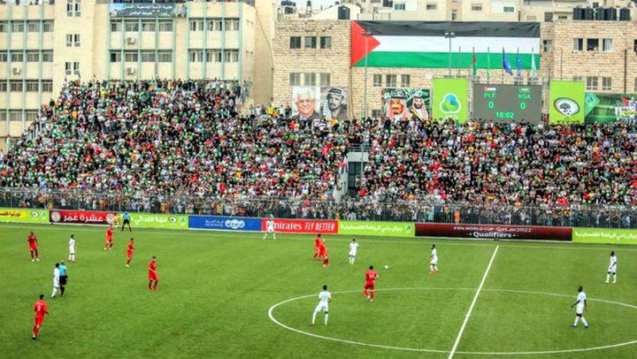 السماح بعودة الجماهير لملاعب كرة القدم الفلسـطينية