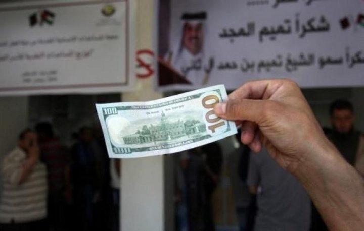 مجدلاني: توصلنا لتفاهم مع البنوك لصرف المنحة القطرية 100 دولار
