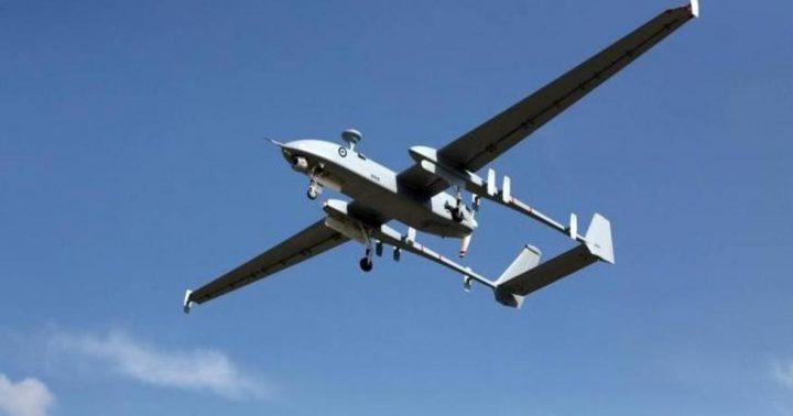 الاحتلال يعلن سقوط طائرة مسيرة في سوريا