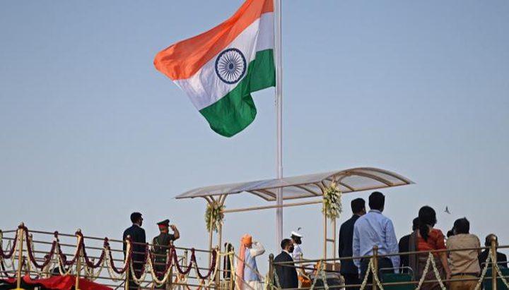 السفارة الهندية في رام الله تحتفل بعيد استقلال الهند الـ75