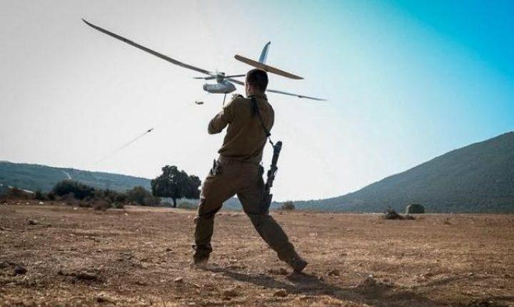 سقوط طائرة مُسيّرة إسرائيلية في الأراضي السورية