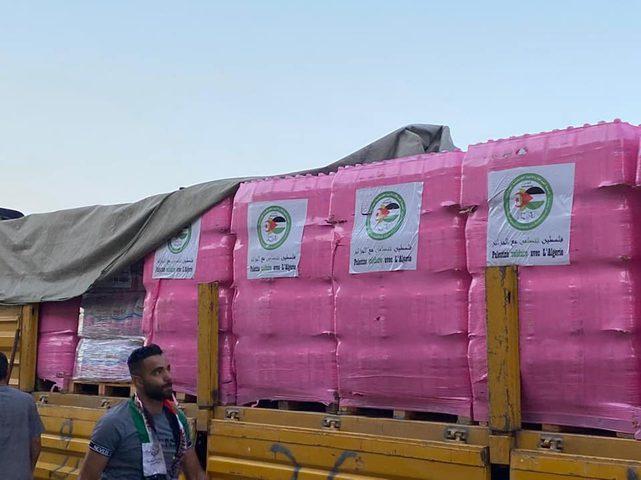 قافلة تضامنية من فلسطين إلى ولاية تيزي وزو الجزائرية