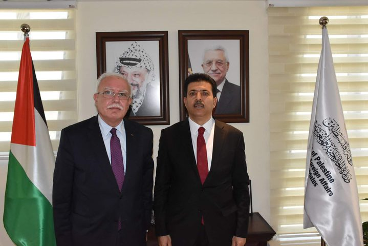 المالكي يبحث مع السفير التونسي آخر المستجدات والتطورات السياسية