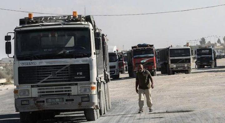 """""""إسرائيل"""" تسمح باستيراد وتصدير سلع جديدة من وإلى غزة"""