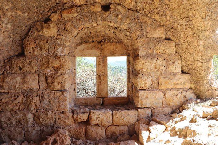 قرية صوبا المهجرة غرب مدينة #القدس
