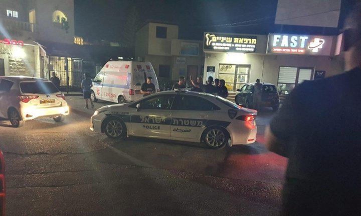 إصابة شخص في جريمة إطلاق نار في شفاعمرو