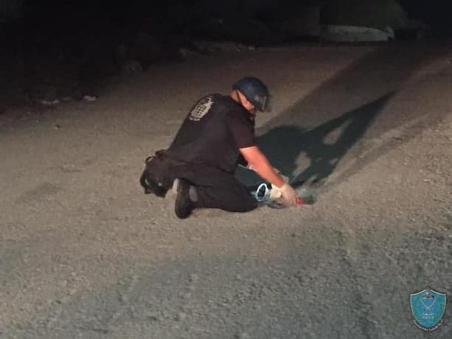 بيت ساحور: الشرطة تبطل مفعول عبوة معدة للانفجار