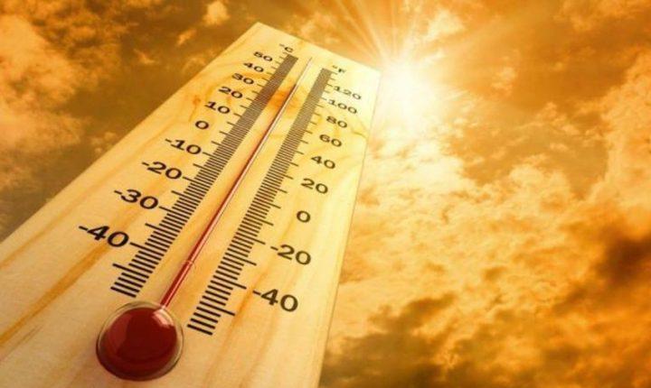 الطقس: درجات الحرارة أعلى من معدلها السنويالعام بقليل
