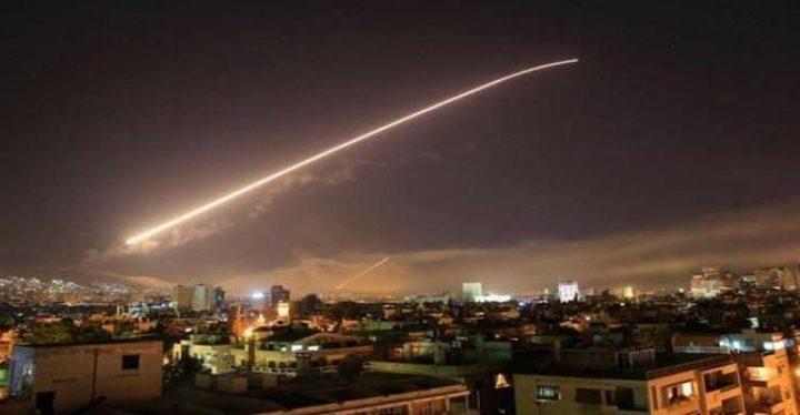 الدفاعات الجوية السورية تتصدى لقصف إسرائيلي عل محيط دمشق