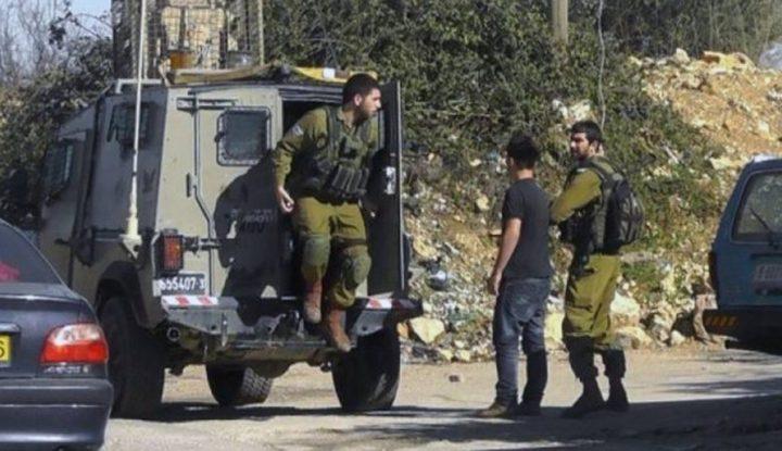 الاحتلال يعتقل فتى من عانين غرب جنين