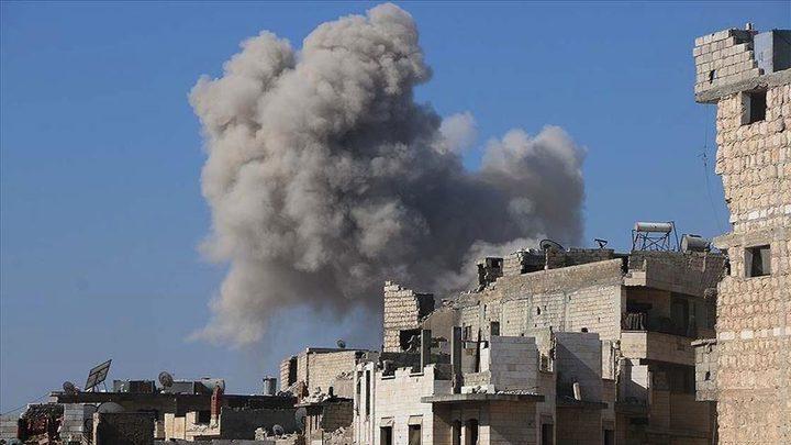 """28 عملية قصف من جانب """"النصرة"""" في إدلب"""