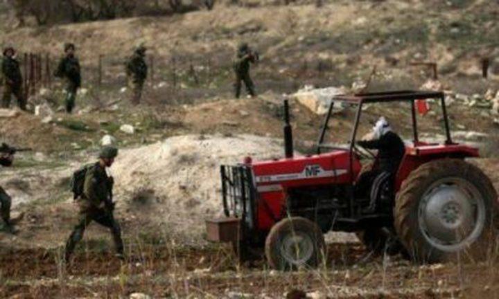 الاحتلال يمنع طاقم زراعة طولكرم من تنفيذ مشروع تأهيل شمال المدينة