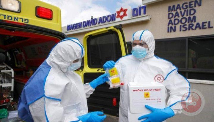 """7,761 إصابة كورونا جديدة في """"إسرائيل"""