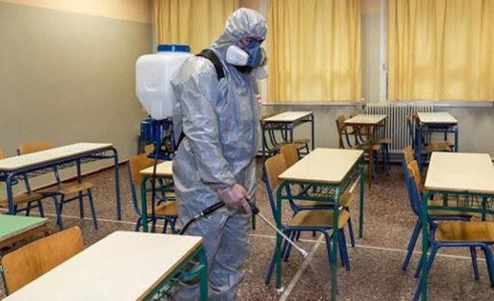 إغلاق مدرسة بنات سلفيت الاساسية بسبب كورونا