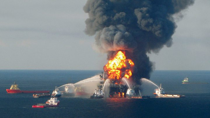مقتل 5 أشخاص نتيجة انفجار بمنصة نفطية في خليج المكسيك