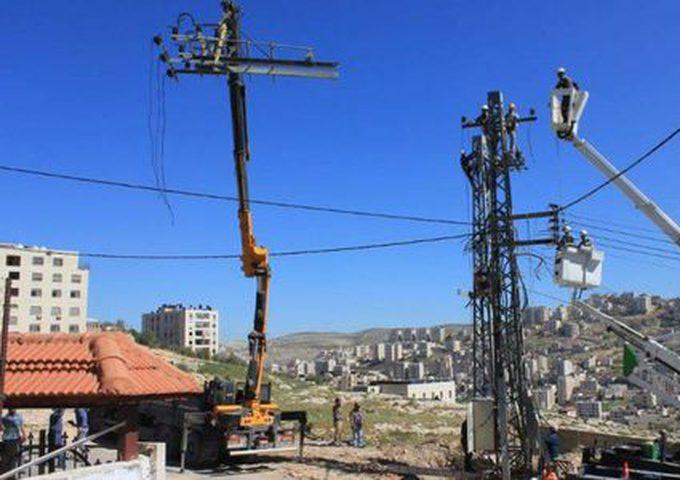 سلطة الطاقة تشرع بربط طولكرم بمحطة صرّة لحل أزمة الكهرباء