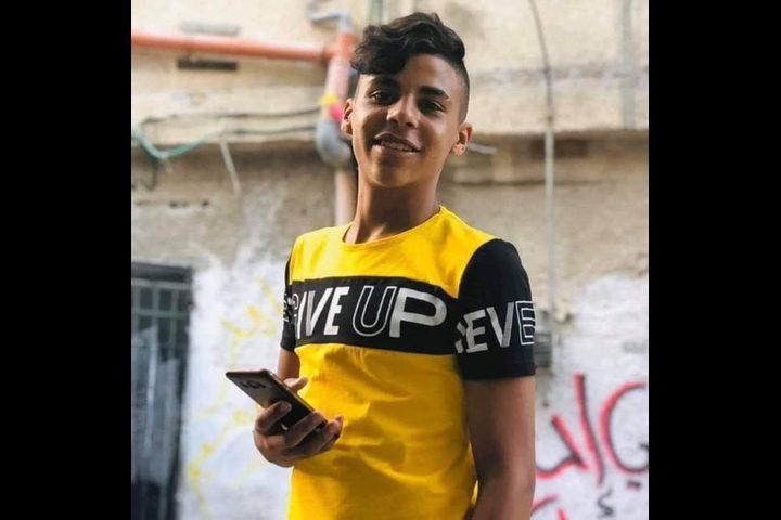 استشهاد فتى برصاص الاحتلال في مخيم بلاطة