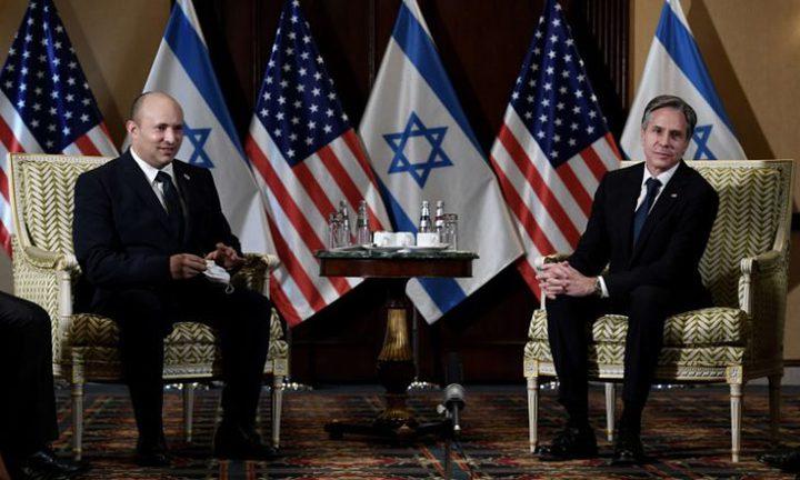 بينيت يبحث مع مسؤولين أميركيين كبح نشاط إيران في المنطقة