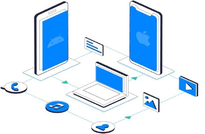 برنامج MobileTrans لنقل البيانات