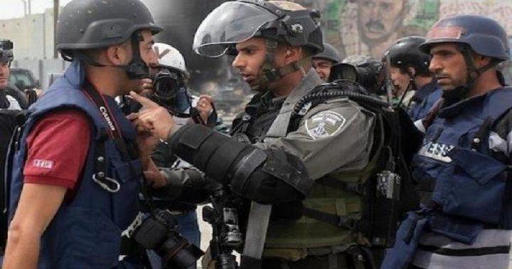 وزارة الإعلام تدين احتجاز الاحتلال 7 صحفيين جنوب الخليل