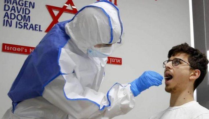 صحة الاحتلال : 34 وفاة واكثر من 8 الاف اصابة بكورونا