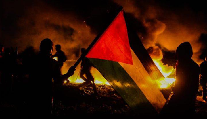"""""""الإرباك الليلي"""" تعلن عن عودة فعالياتها على الحدود الشرقية لغزة"""