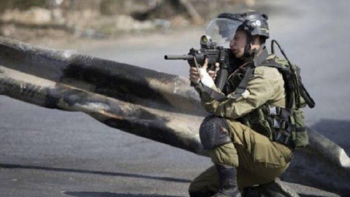 إصابة شاب برصاص الاحتلال في حوسان غرب بيت لحم