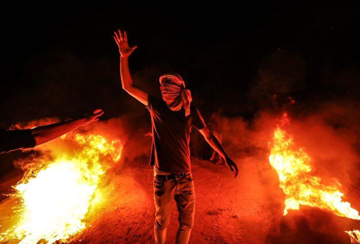 إصابات خلال قمع الاحتلال فعاليات الإرباك الليلي شرق قطاع غزة