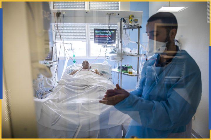 صحة الاحتلال: 32 وفاة بكورونا وارتفاع نسبة الفحوصات الموجبة