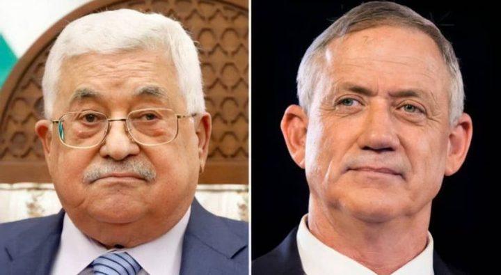 مسؤول إسرائيلي: لقاء غانتس وأبو مازن لأغراض امنية