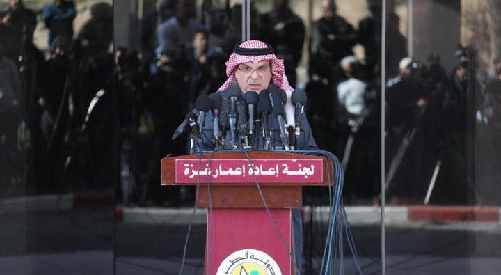 السفير القطري محمد العمادي يصل قطاع غزة الخميس المقبل