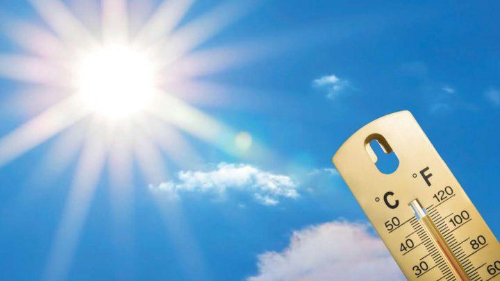 الطقس: الحرارة أعلى من معدلها السنوي العام بحدود 5 درجات