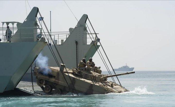 مناورات بحرية إسرائيلية–أميركية مشتركة في البحر الأحمر لأول مرة