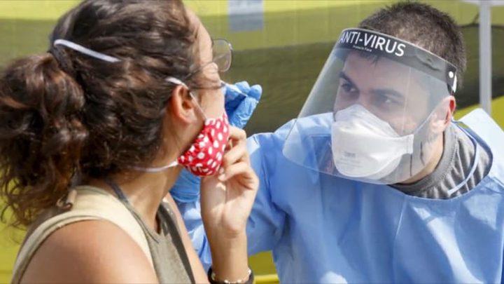 """""""إسرائيل"""" تسجل لأول مرة 11 ألف إصابة بكورونا خلال يوم واحد"""