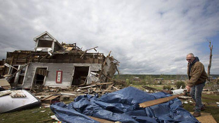 """الولايات المتحدة: """"لاري"""" يشتد ليتحول لإعصار من الفئة الثانية"""