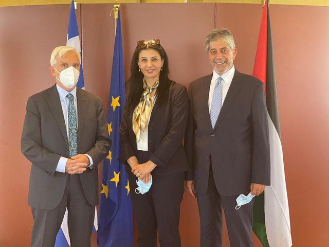 عقد الجلسة الثانية من المشاورات السياسية بين فلسطين واليونان